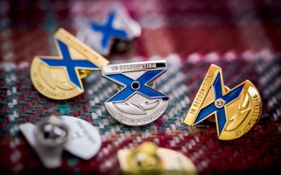 Selcraft's recognition pins and service awards are extra special